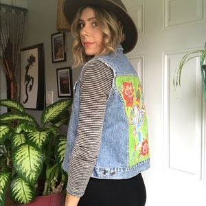 hand painted vest